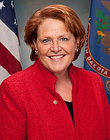 Heitkamp Crosses Aisle to Vote for Perdue as Ag Secretary